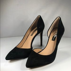 [193] INC Kenjay Pointed Toe D'Orsay Heels 7.5 M